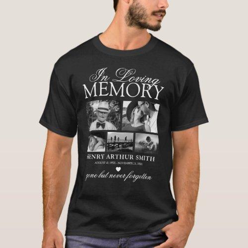 Elegant 5 Photo In Loving Memory T_Shirt