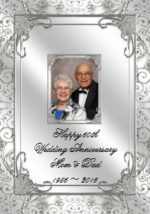 60th Anniversary Cake Toppers | Zazzle