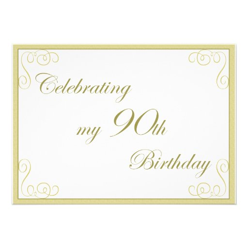 Invitations 90Th Birthday is great invitations ideas
