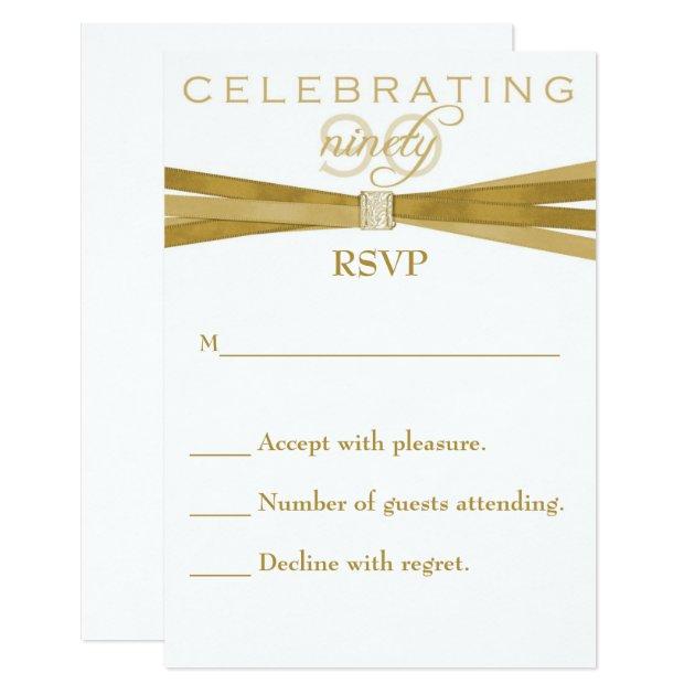 elegant_90th_birthday_party_invitations_rsvp_card r958dab2942e44870b4ff459ff115fd21_6gduc_630?rlvnet=1&view_padding=%5B285%2C0%2C285%2C0%5D elegant 90th birthday party invitations rsvp card zazzle,Party Invitations With Rsvp Cards