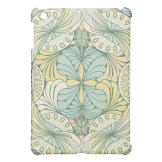 elegant abstract art nouveau swirl design iPad mini case