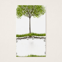 elegant abstract environmental card temp