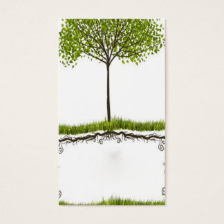 elegant abstract environmental card temp