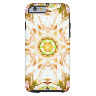 elegant abstract flower design pattern chic yoga tough iPhone 6 case