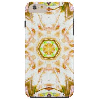 elegant abstract flower design pattern chic yoga tough iPhone 6 plus case
