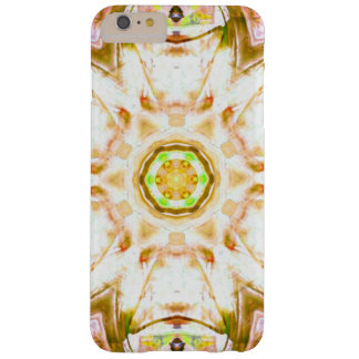 elegant abstract flower design pattern chic yoga barely there iPhone 6 plus case