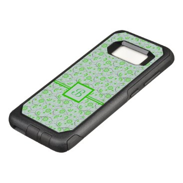 Art Themed Elegant Abstract Flowers 5 OtterBox Commuter Samsung Galaxy S8 Case