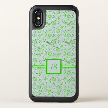 Art Themed Elegant Abstract Flowers 5 Speck iPhone X Case