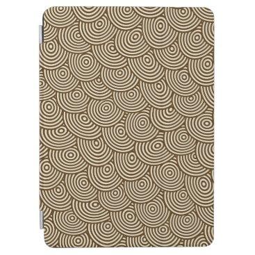 Elegant Abstract Hypnotic Circles   iPad Air Case
