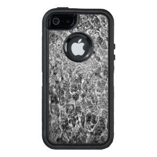 Elegant Abstract River Water Ripples OtterBox Defender iPhone Case