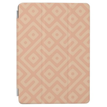Elegant Abstract Zigzag and Squares iPad Air Case