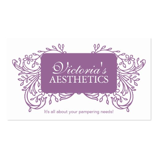 Esthetician Business Card Templates Page12