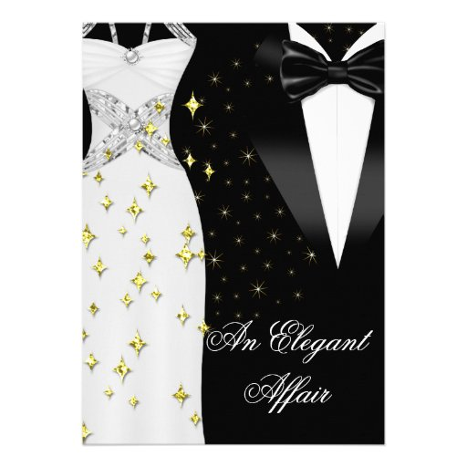 Black And White Affair Invitations Pictures To Pin On