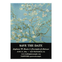 "Elegant ""Almond Blossom"" Save the Date / Website Card"