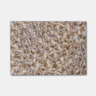 Elegant Amber Crystals Decor Post-it Notes