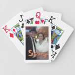 Elegant and Artsy Cute Couple Design Bicycle Playing Cards