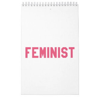 Elegant and Beautiful Typography || Feminist Calendar