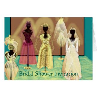 Elegant and Chic Bridal Shower Invitation
