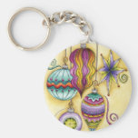 Elegant and Fancy Christmas Ornaments Hanging Key Chains
