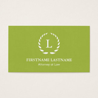 Elegant and Modern Lawyer Business Cards