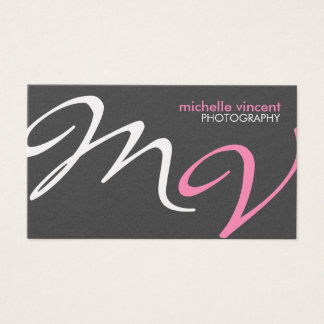 Elegant and Modern Photography Business Card