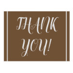 """[ Thumbnail: Elegant and Personalized """"Thank You!"""" Postcard ]"""