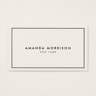 Elegant And Refined Luxury Boutique Black Ivory Ii Business Card