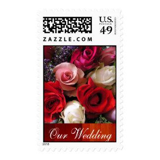 Elegant and Striking Wedding Postage - Customize