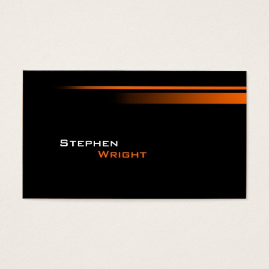 Elegant and Stylish with Gradient Lines Business Card
