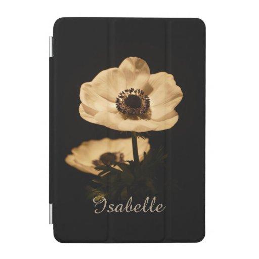 Elegant Anemone Flowers Personalised iPad Mini Cov iPad Mini Cover