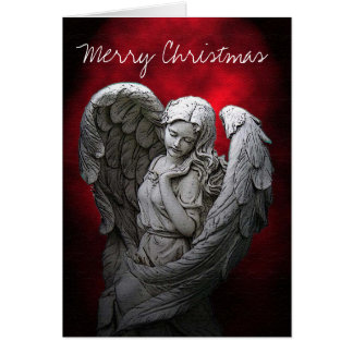 Elegant Angel Christmas Greeting Card