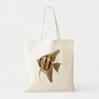 Elegant Angelfish Tote Bag