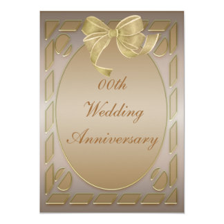 Elegant Anniversary Party Invitation