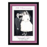 Elegant Anniversary Party Invitation (violet)