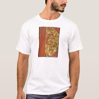 Elegant Antique Book, Ornate Swirl Pattern T-Shirt