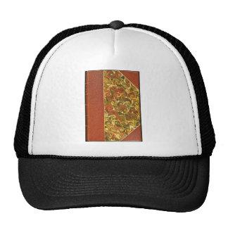 Elegant Antique Book, Ornate Swirl Pattern Trucker Hat