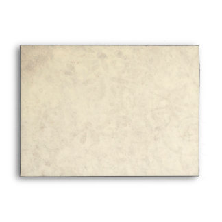 Elegant Antique Look Wedding Envelope