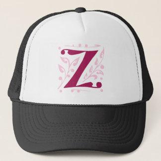 Elegant antique medieval letter Z Trucker Hat