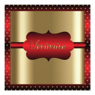 Elegant Any Occasion | Red and Gold Card