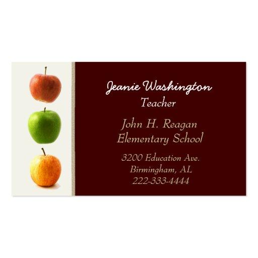apple business card templates page10 bizcardstudio