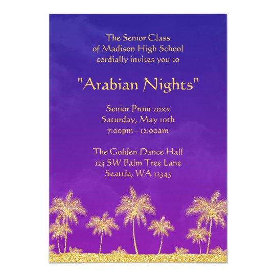 Elegant arabian nights prom formal invitation zazzle elegant arabian nights prom formal invitation stopboris Image collections