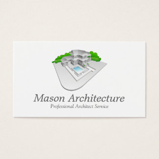 Elegant Architect / Architecture Business Card