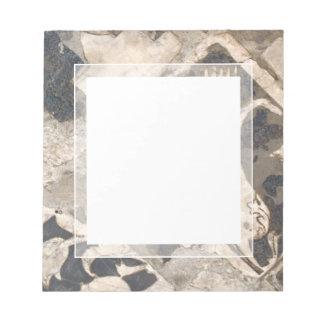 Elegant Architectural Antique Italian Marble Note Pad
