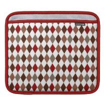 Elegant Argyle Diamond Pattern Sleeve For iPads
