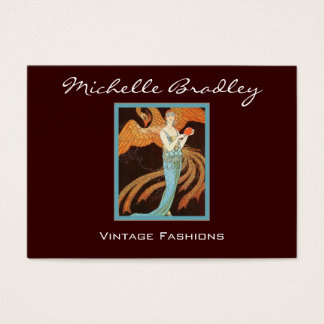 Elegant Art Deco Fashion Business Card