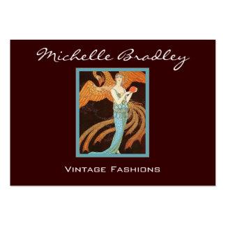 Elegant Art Deco Fashion Large Business Card