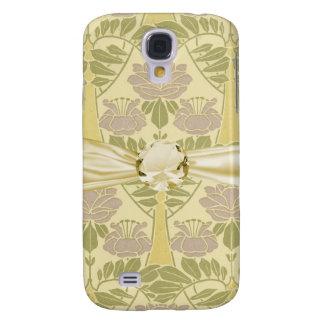 elegant art deco flora bliss galaxy s4 cover