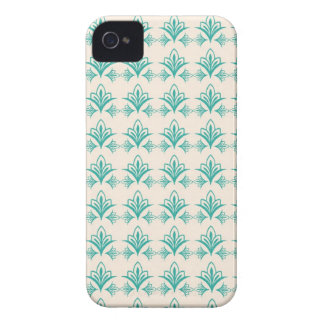 Elegant Art Nouveau Abstract Floral iPhone 4 Covers