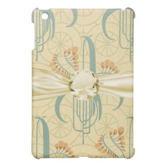 elegant art nouveau floral art iPad mini cover
