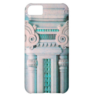 ELEGANT ARTISTIC PINK BLUE FANTASY DECOR iPhone 5C CASES